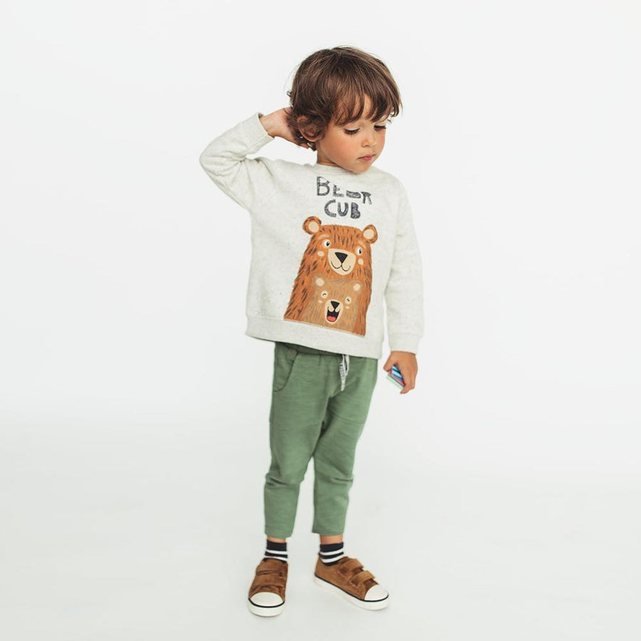 ZARA-kids bear cub sweatshirt (602)