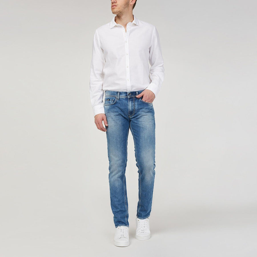 GAS-exclusive random wash anders k wk22 'slim fit' stretch jeans