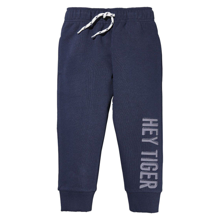 LUPILU-boys navy fleece jogger trouser (502)