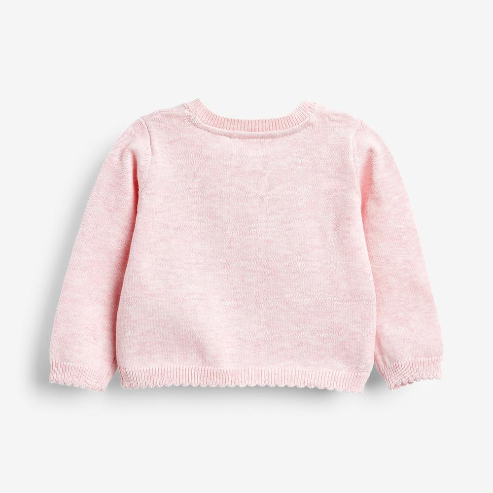 Kids Premium Quality Pink Cardigan Sweater (21019)