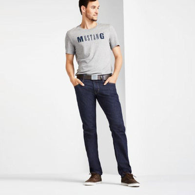 MU-oregon low rise 'tapered slim' jeans