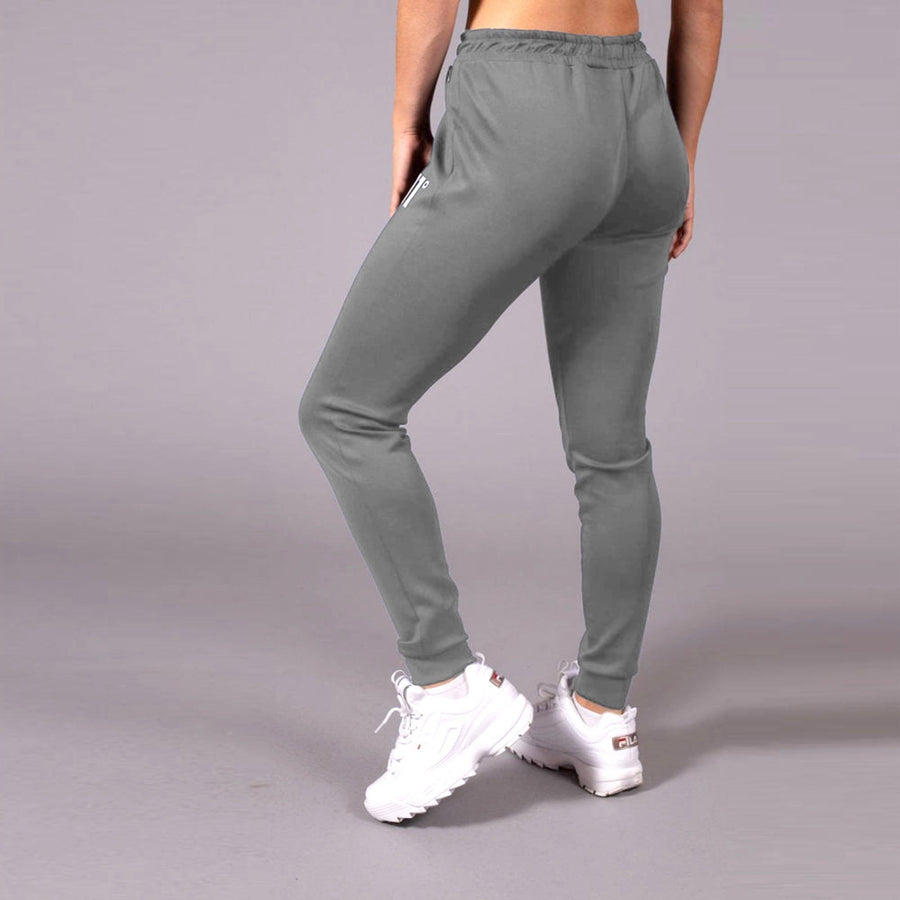 11 DEGREES-exclusive women grey 'skinny fit' core poly trouser