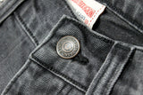 TRUE RELIGION-luke 'regular slim' mid grey stretch denim
