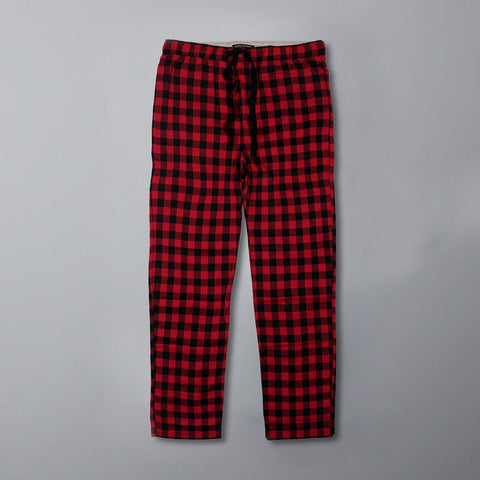 BANANA REPUBLIC-super soft flannel check trouser