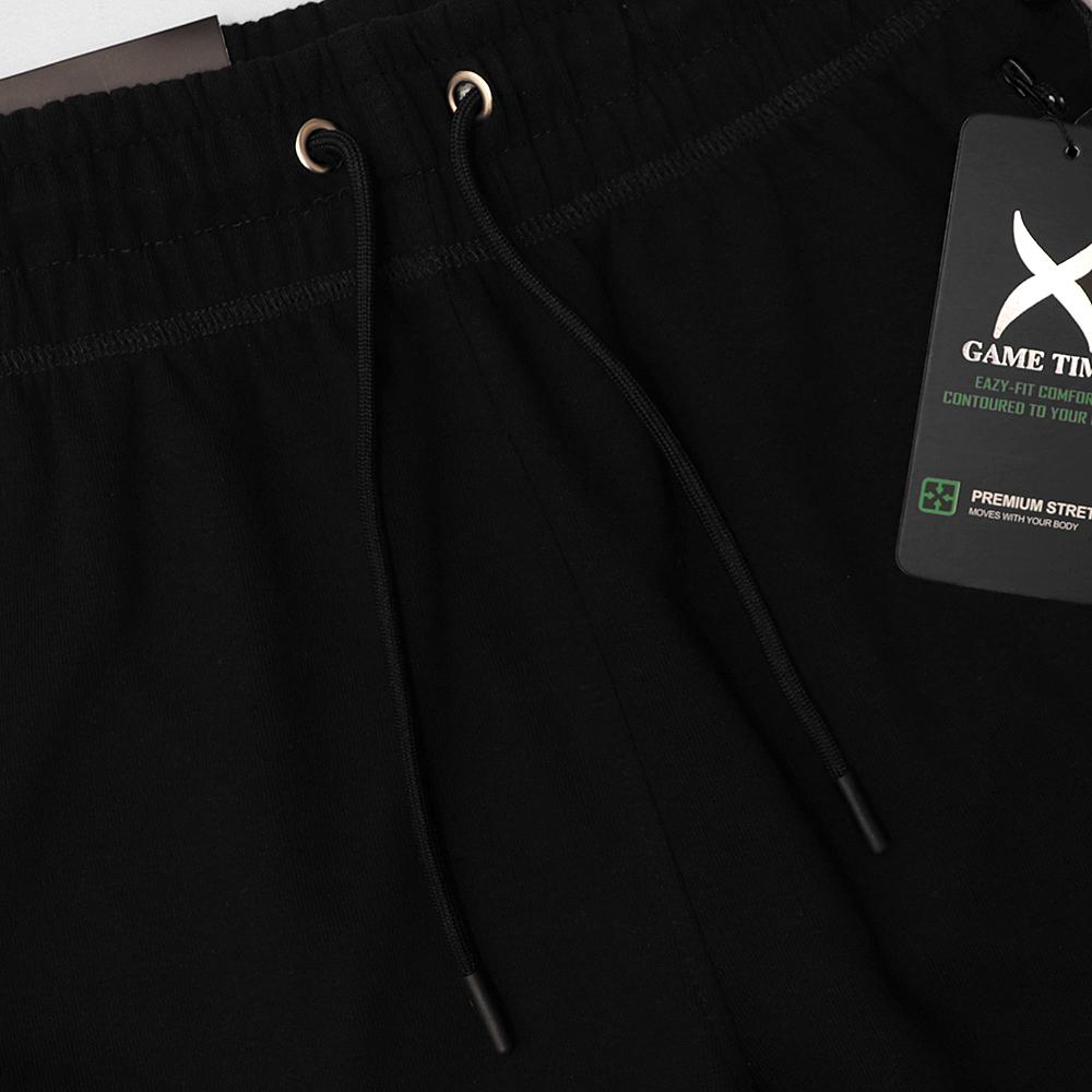 Premium Quick Dry Tech Black Zip Pocket Trouser (30130)