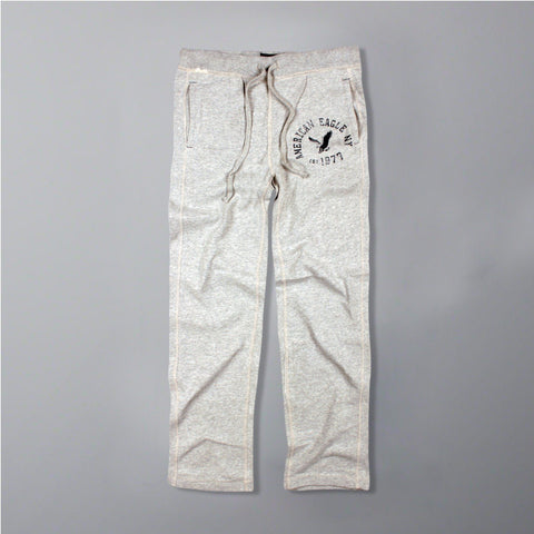 AMERICAN EAGLE-light grey 'straight fit' trouser