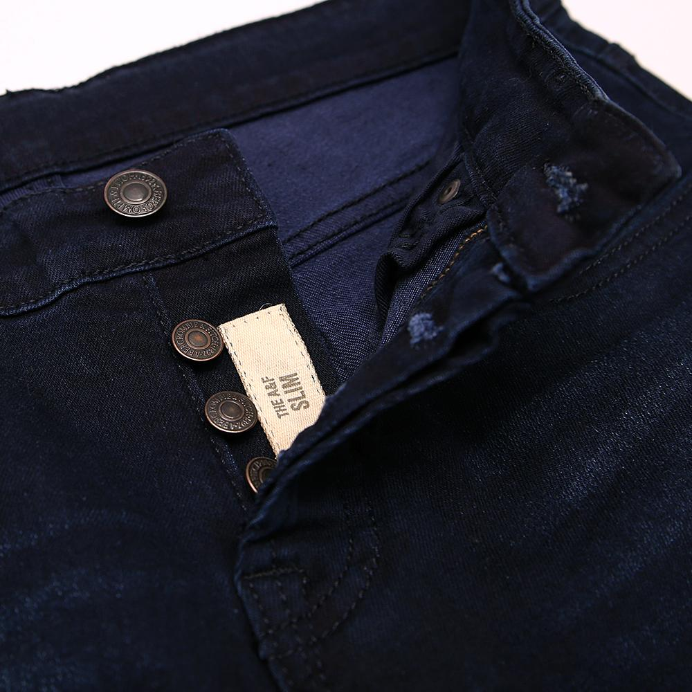 Exclusive Oxford Blue Slim Fit Stretch Jeans (21026)