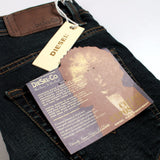 DIESEL-exclusive santino 'slim skinny' stretch dark wash jeans (Premium Fabric)