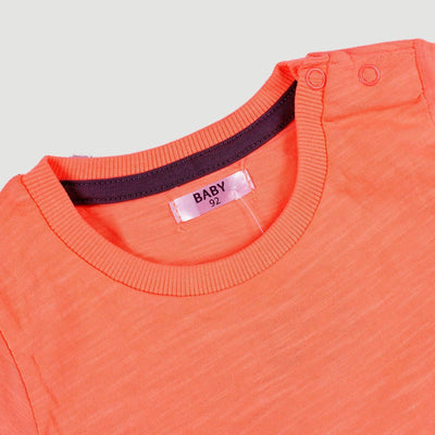 PEPCO-baby boy orange snap t-shirt