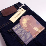 DIESEL-exclusive cosimo 'slim fit' stretch navy jeans (Premium Fabric)