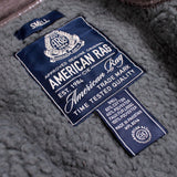 AMERICAN RAG-baseball fur jacket