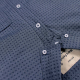 MARC FENDI-self print button down shirt