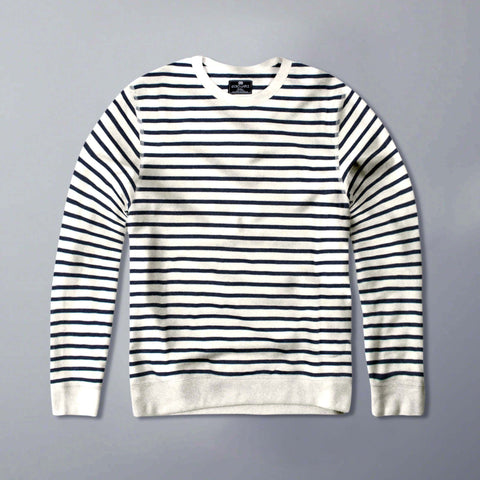 ECKO UNITED-blue sailor striped sweatshirt