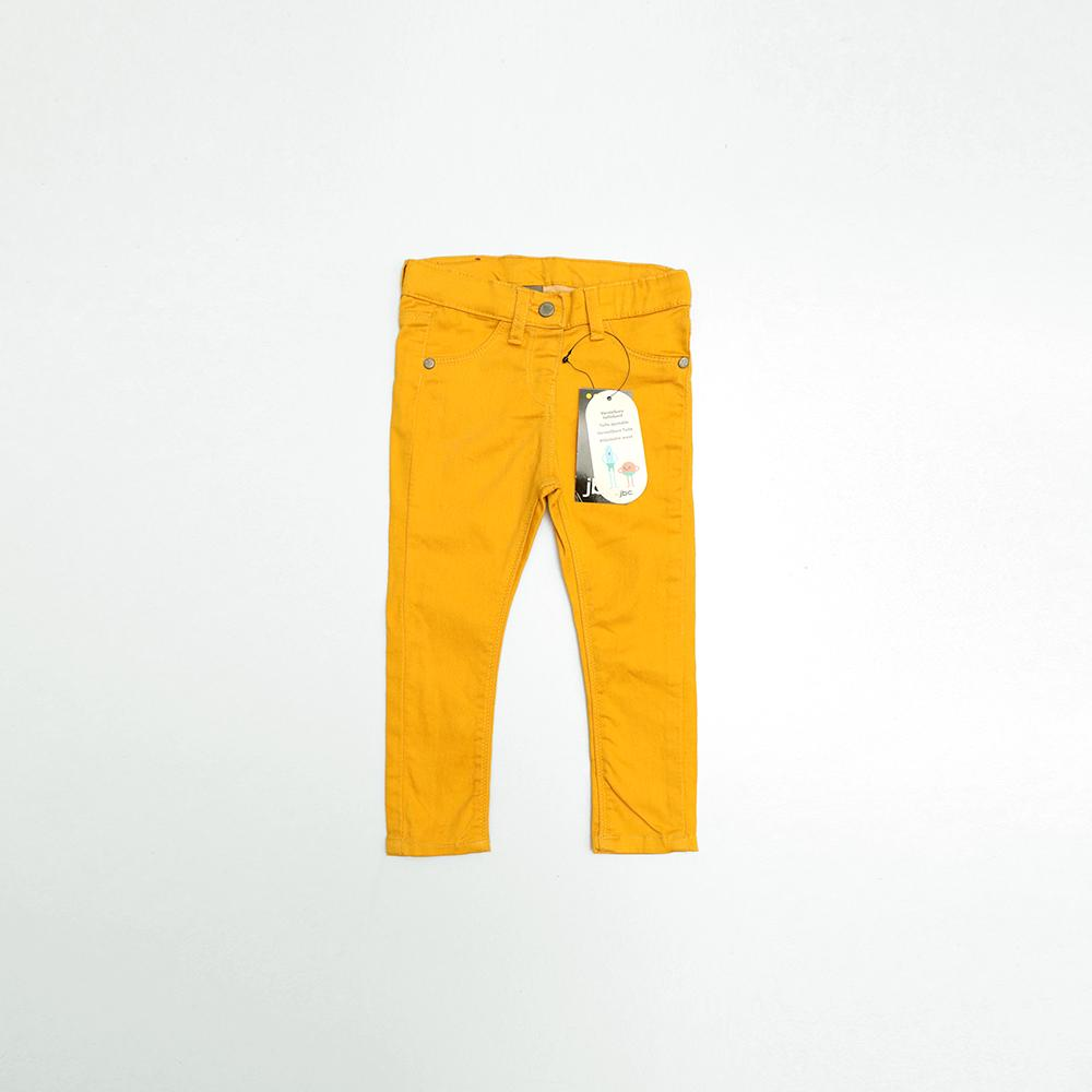 Jbc girls stretch yellow pants (1644)