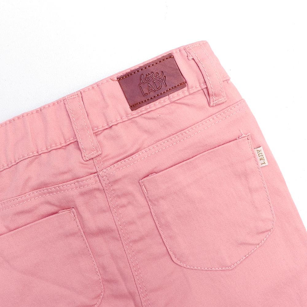 Jbc girls stretch baby pink pants (1645)