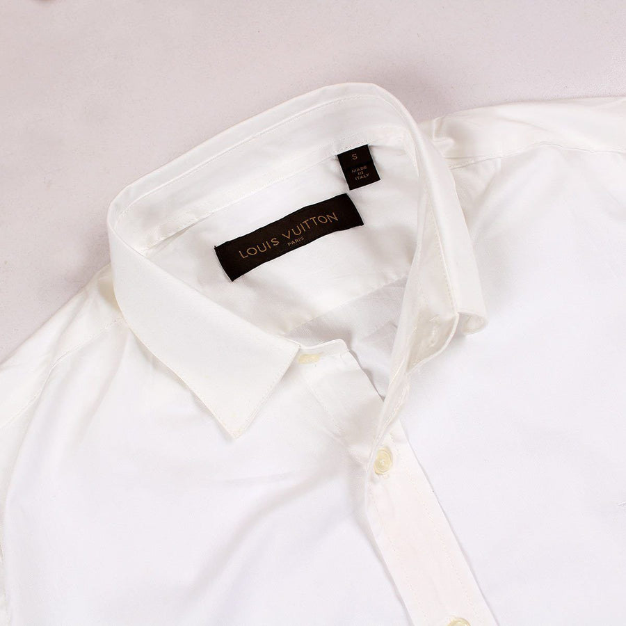 LOUIS VUITTON-exclusive blaze 'slim fit' premium cotton shirt