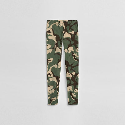Girls camo leggings (873)
