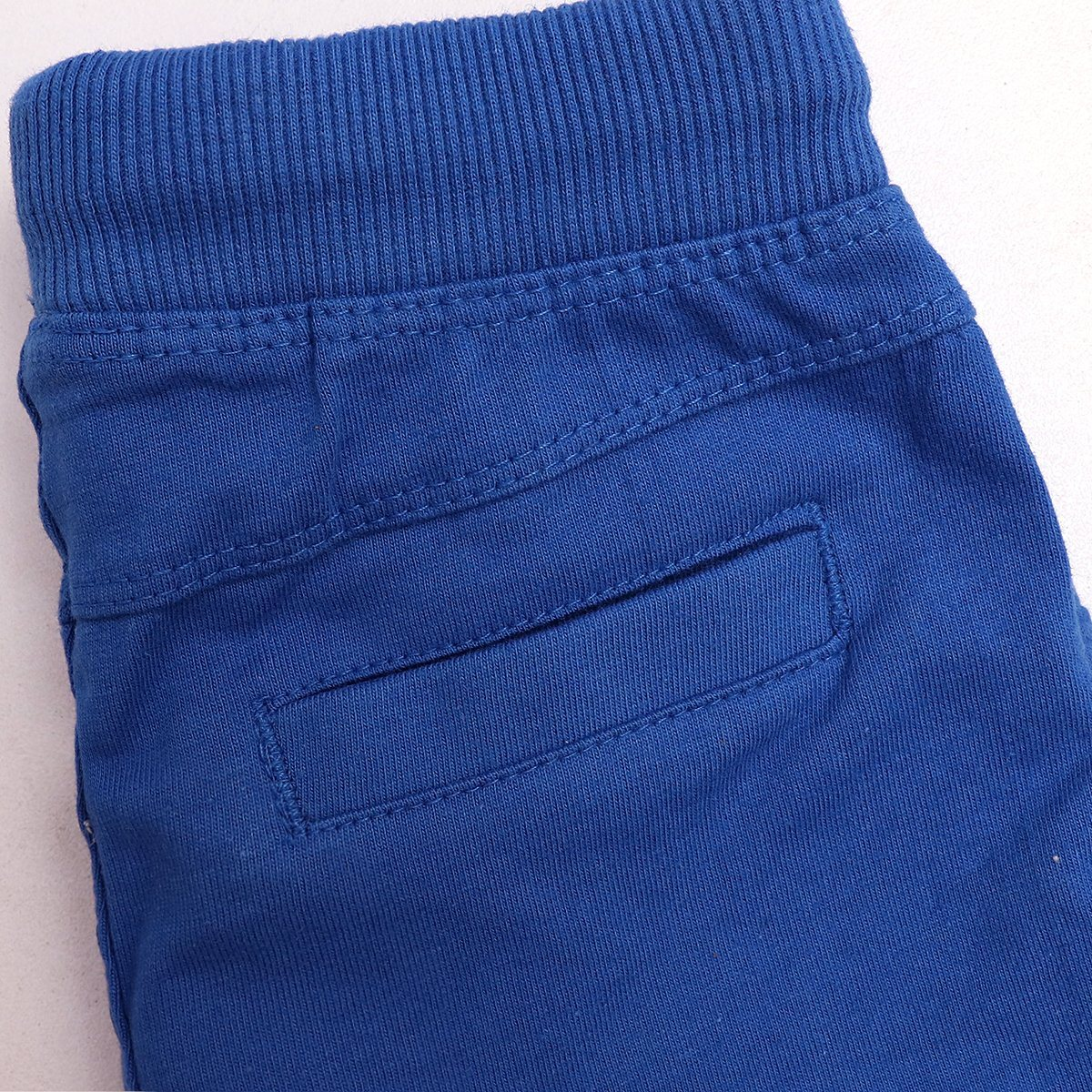 Kids blue organic cotton short (927)