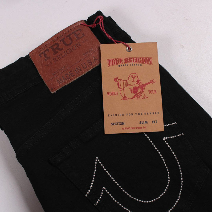 TRUE RELIGION-exclusive scout 'slim fit' stretch jeans (Premium Fabric)