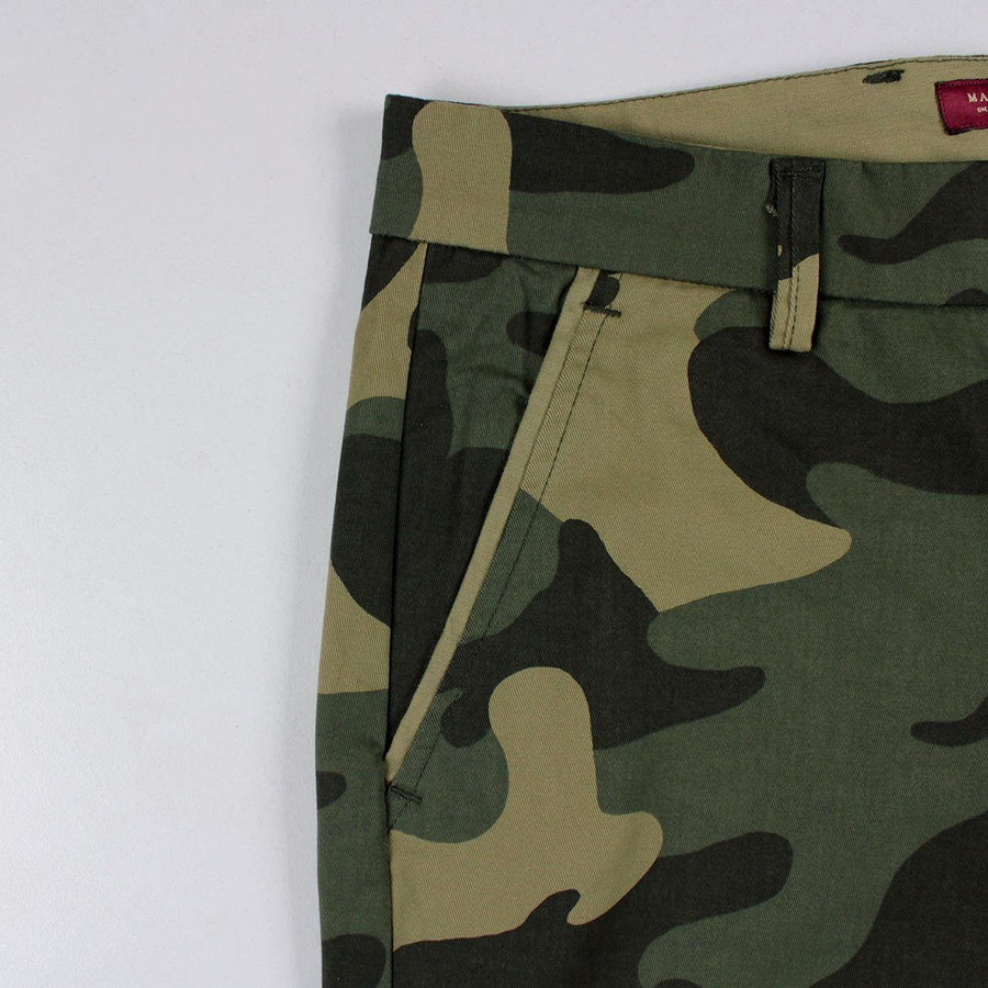 MARC FENDI-camouflage 'slim fit' stretch cotton chino