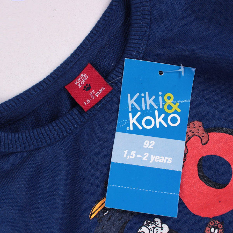 KIKI&KOKO-boys dark blue cool sweatshirt (450)
