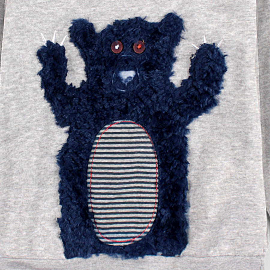 COOL CLUB-boys exclusive bear sweatshirt (498)