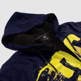 DC SHOES-star sherpa navy blue fur zipper
