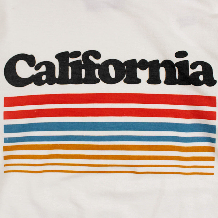 LEFTIES-white california terry sweatshirt