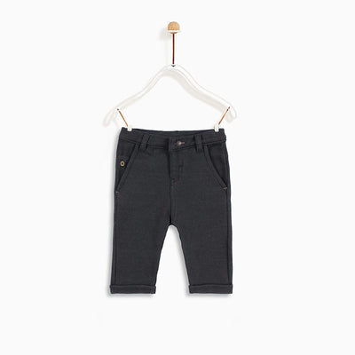 Exclusive boys textured gray pant (569)