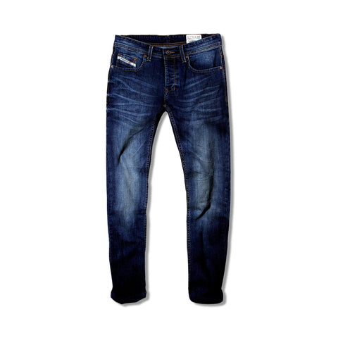 DIESEL-exclusive lapo 'slim fit' stretch blue jeans (Premium Fabric)