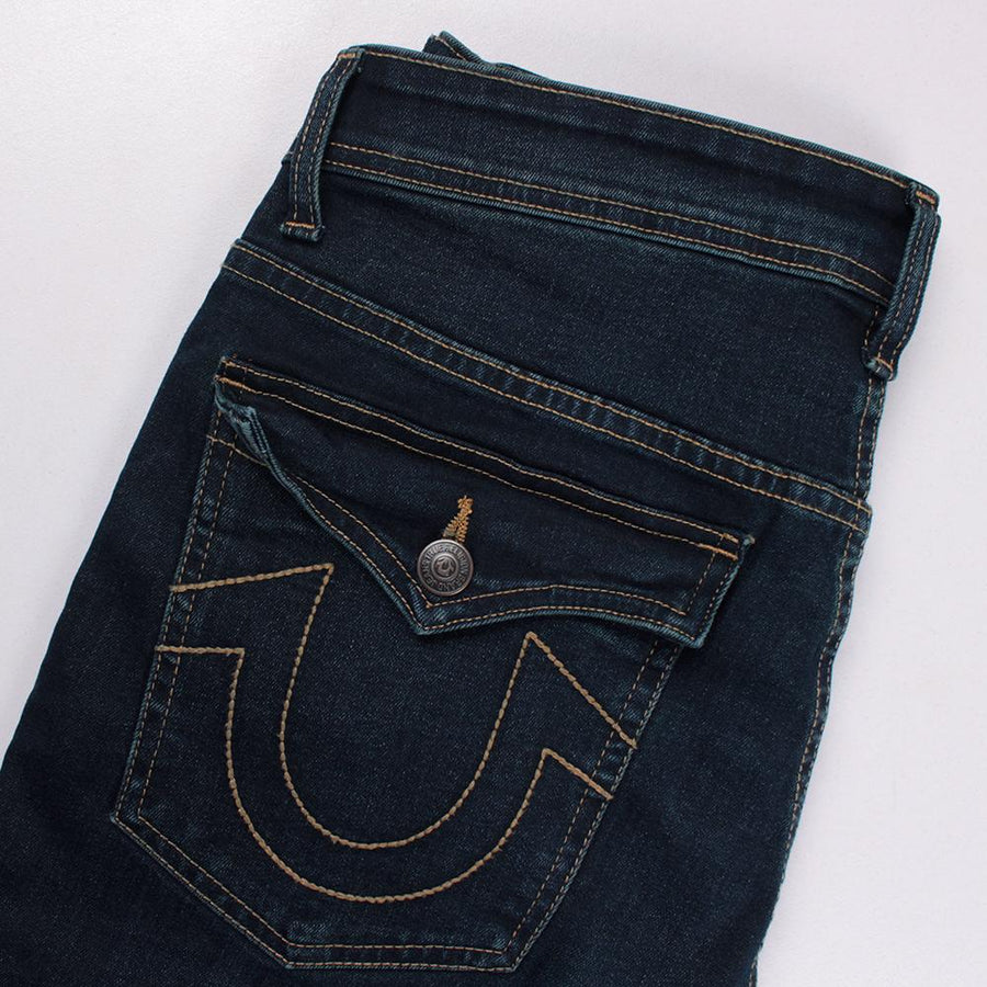 TRUE RELIGION-exclusive jose 'slim fit' stretch jeans (Premium Fabric)