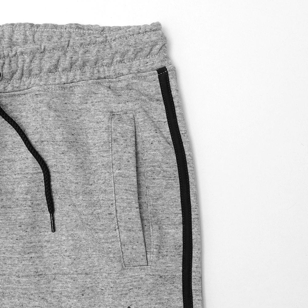Grey Tri-Striped Fleece Jogger Trouser (30012)