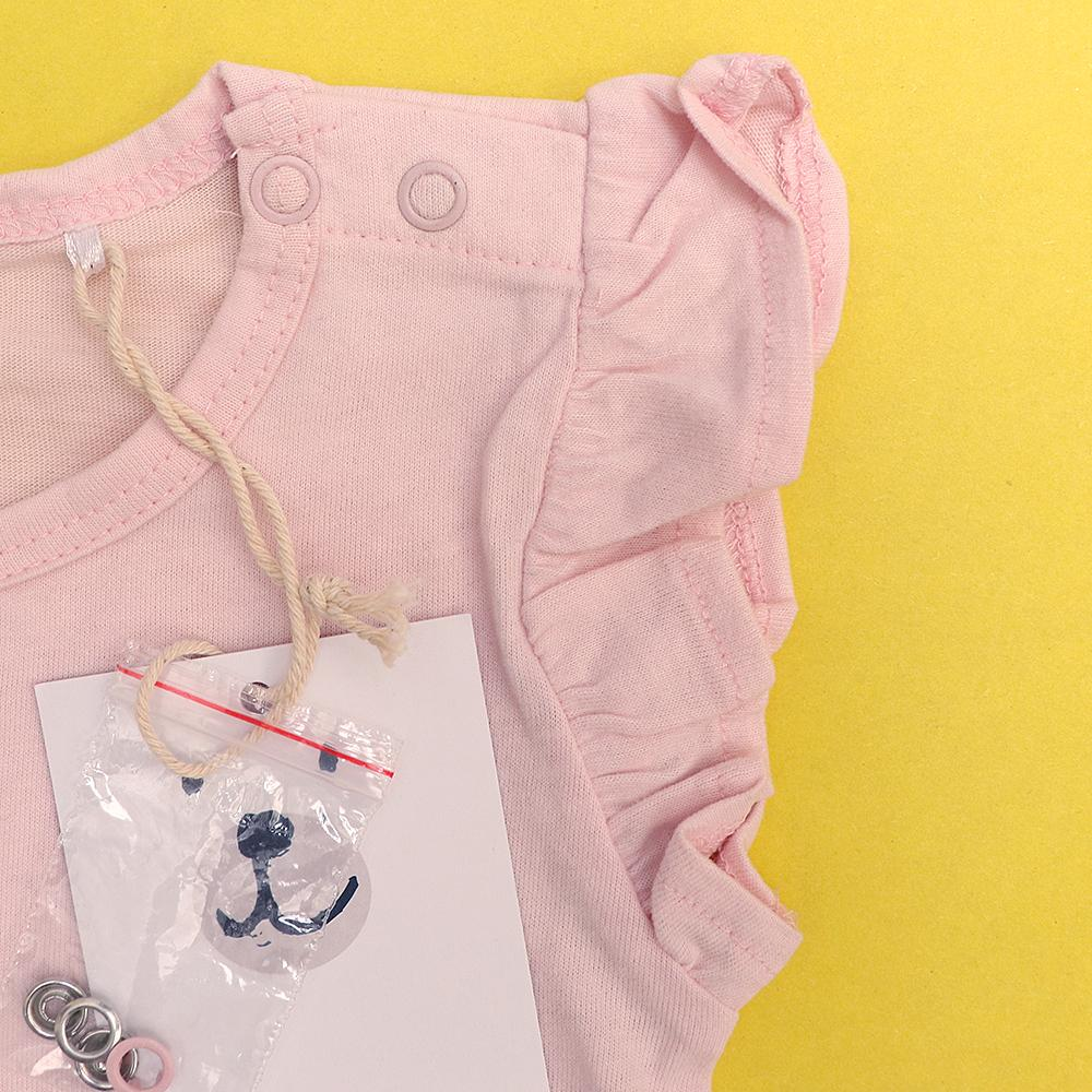 Endo girls imported skin-friendly cotton romper (1665)