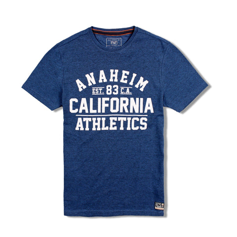 F&F-california athletics blue t-shirt