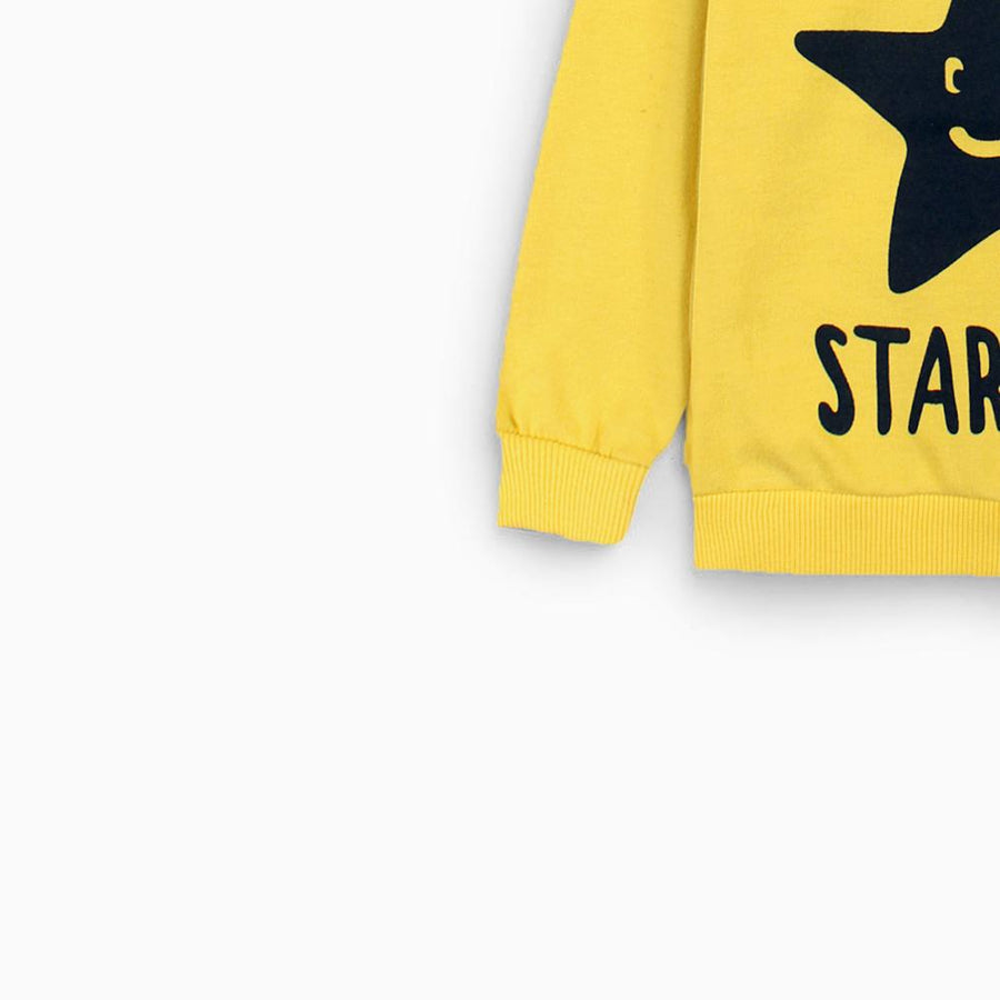 ZIPPY-kids yellow star boy sweatshirt (637)