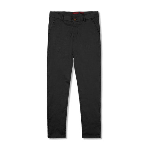 MARC FENDI-light weight semi-formal 'slim fit' trouser with lining detail (non-stretch)