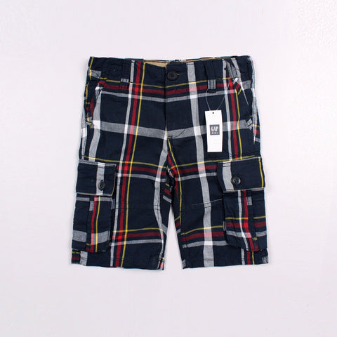 GAP-boys elysian blue plain cargo short