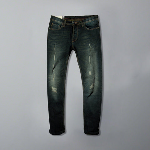 Abercrombie & Fitch-exclusive ripped 'slim fit' stretch jeans (Premium Fabric)