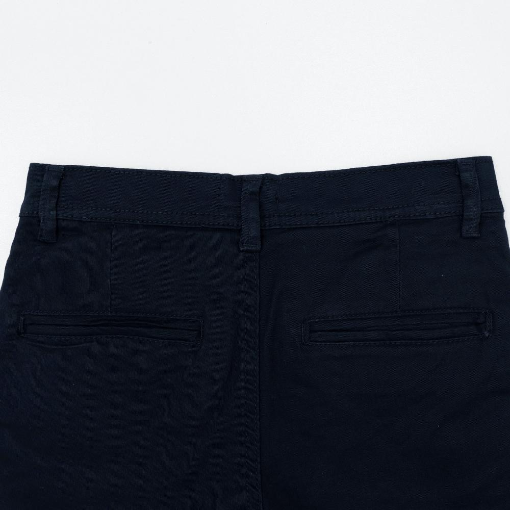 Boys cotton chino shorts with side stripe tape (1720)