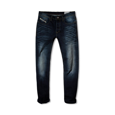 DIESEL-exclusive mario 'slim fit' comfort stretch coated jeans