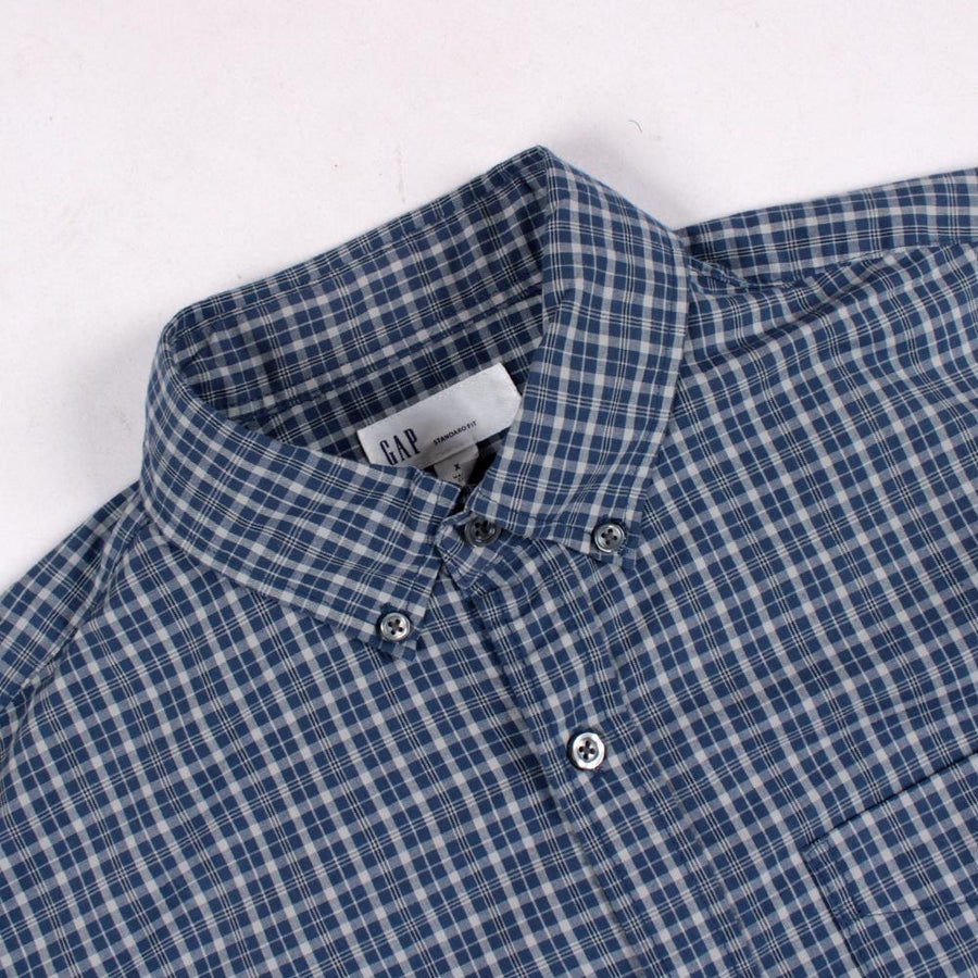 GAP-colonial navy 'standard fit' button down shirt