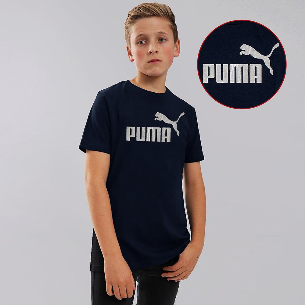 Boys navy classic archive logo t-shirt (703)