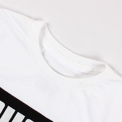 Boys white nineteen forty t-shirt (707)