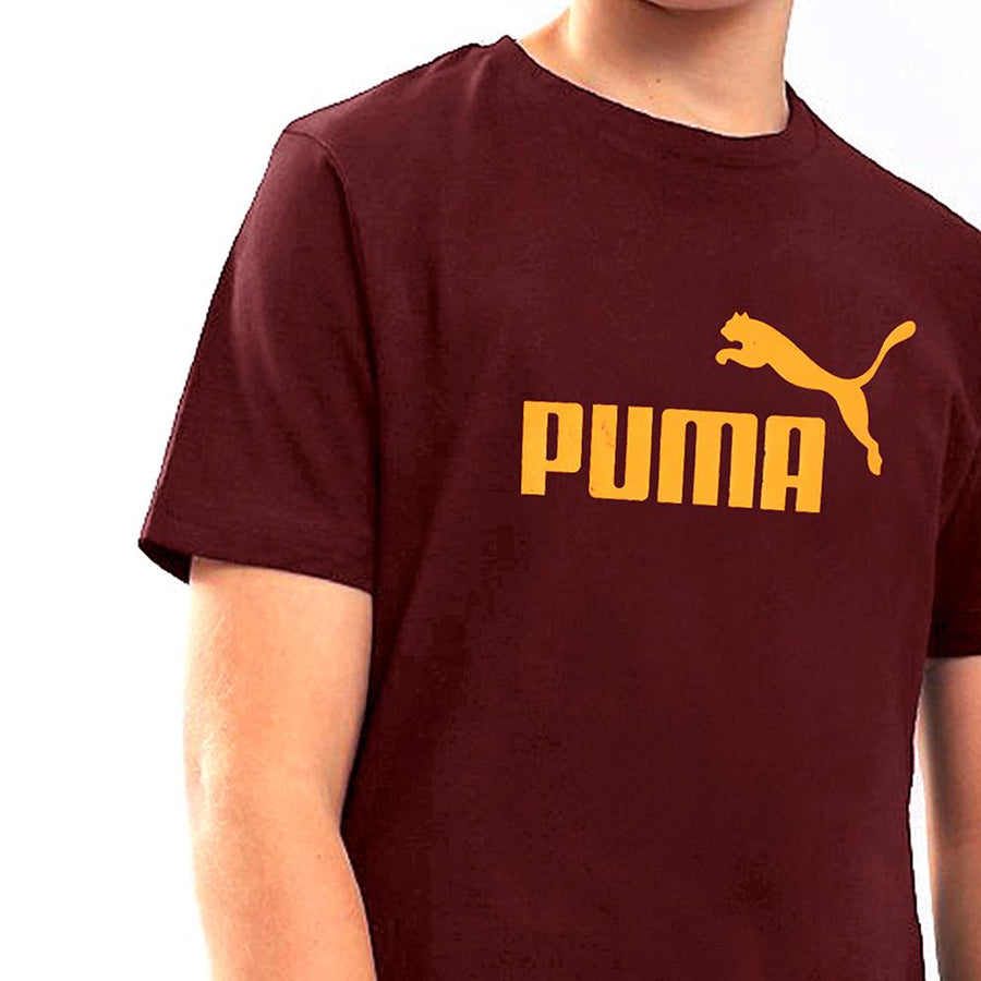PUMA-boys apple red classic t-shirt (702)