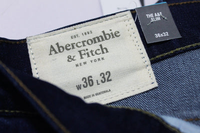 Abercrombie & Fitch-exclusive scott 'slim fit' stretch dark wash denim (Premium Fabric)