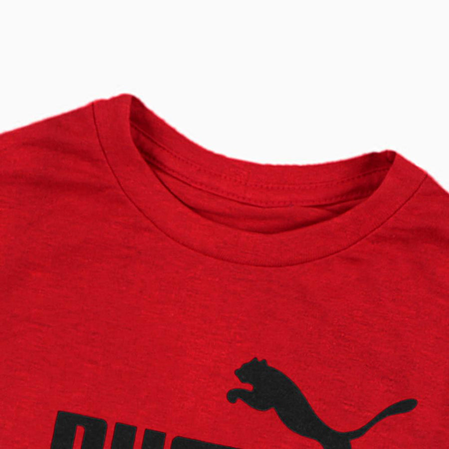 PUMA-boys red classic t-shirt (705)