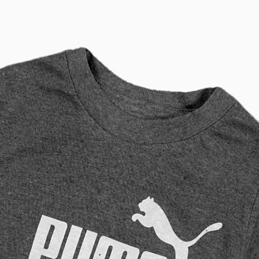 PUMA-boys charcoal classic t-shirt (706)