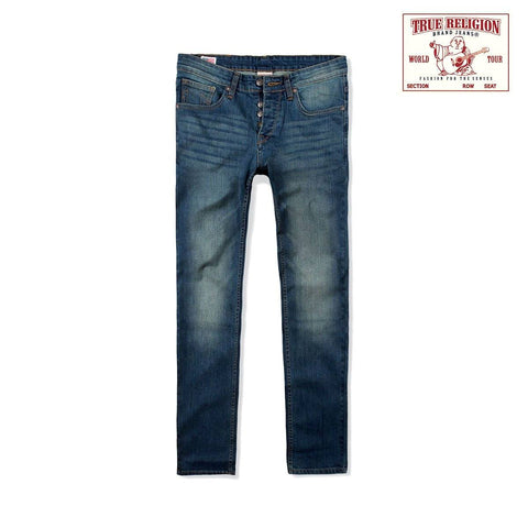 TRUE RELIGION-exclusive drake 'slim fit' comfort stretch jeans