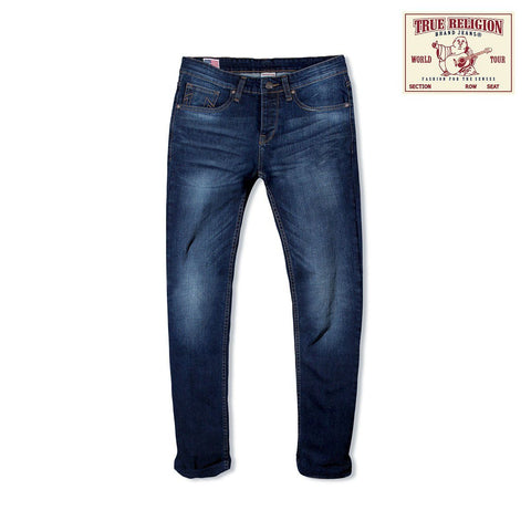 TRUE RELIGION-exclusive fitz 'slim fit' comfort stretch jeans