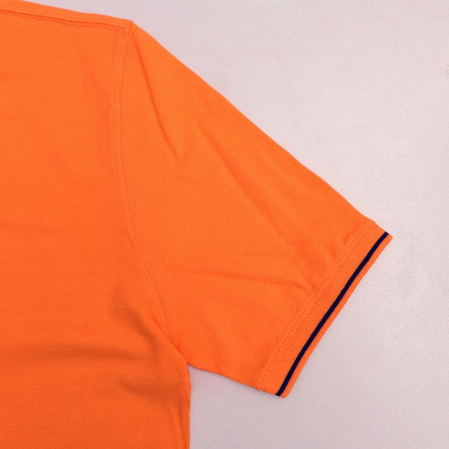 Loops orange 'regular fit' tipped collar polo (1032)